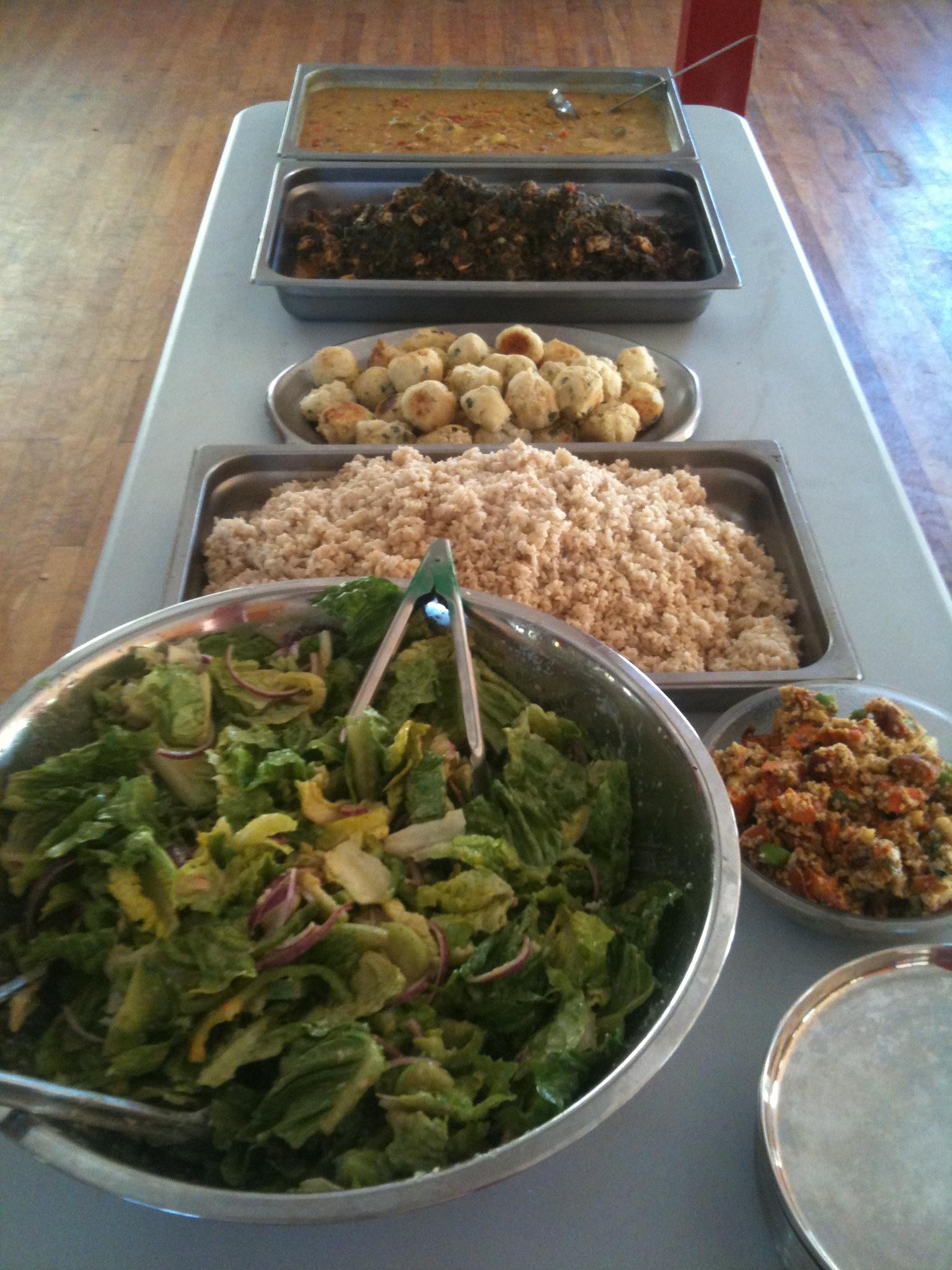 Organic Kosher Vegetarian Indian Food at Eden Village Camp
