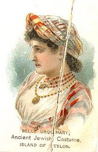 Jewish woman in Sri Lanka