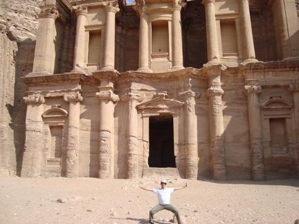Rabbi Ben at Petra, Jordan