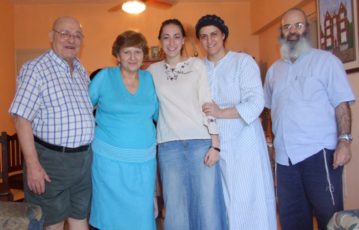 Jewish family in Asuncion Paraguay
