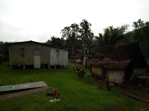 A remote Fijian village in the mountains and jungles of Viti Levu, Fiji